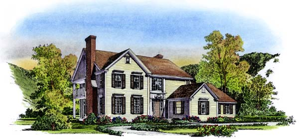 Traditional House Plan 86035 Elevation