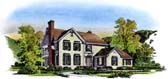 Plan Number 86035 - 3278 Square Feet