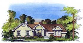 Traditional House Plan 86036 Elevation