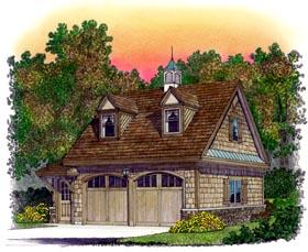 Cape Cod Cottage Craftsman Traditional Garage Plan 86040 Elevation