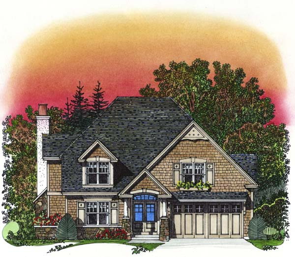 Traditional House Plan 86042 Elevation