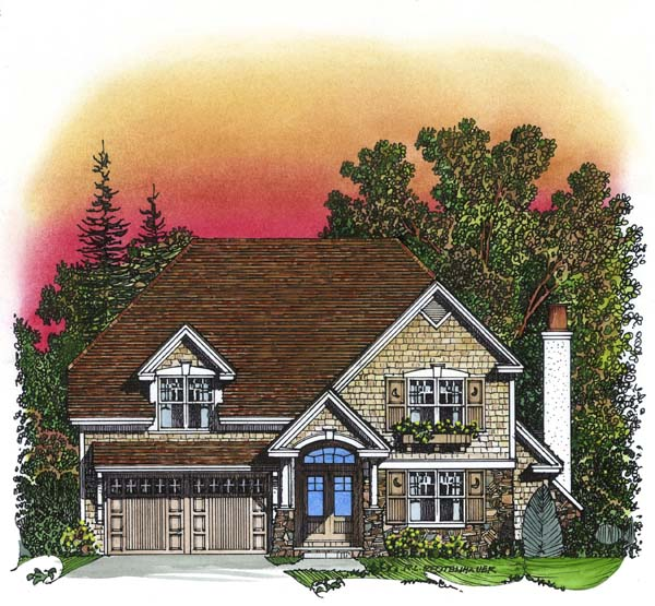 Traditional House Plan 86043 Elevation