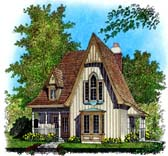 Plan Number 86045 - 1204 Square Feet