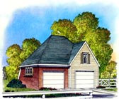 Garage Plan 86050