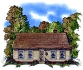 Plan Number 86055 - 1775 Square Feet