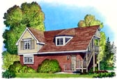 Plan Number 86061 - 797 Square Feet