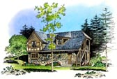 Plan Number 86062 - 797 Square Feet