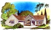 Plan Number 86065 - 1495 Square Feet