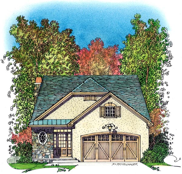 Bungalow Cottage Country House Plan 86066 Elevation