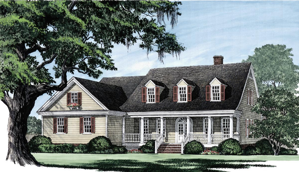 House Plan 86104 At