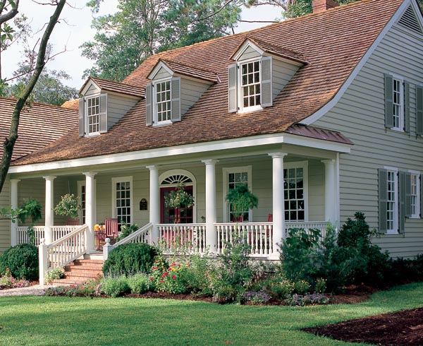 Cape cod country southern traditional house plan 86104 for Southern country house plans