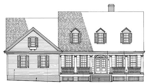 cape cod country southern traditional house plan 86104 cod kahana falls floor plans falls home plans ideas picture