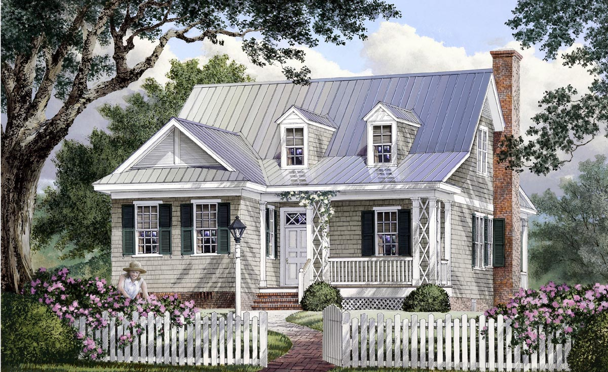 House Plan 86106 At