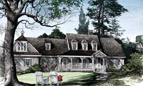 Country Craftsman Southern House Plan 86111 Elevation
