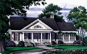 Traditional House Plan 86131 Elevation