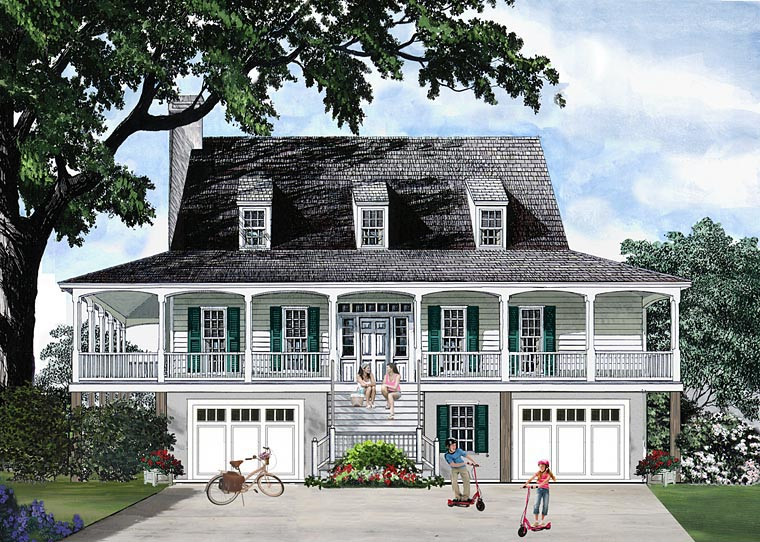 House Plan 86134 at FamilyHomePlanscom