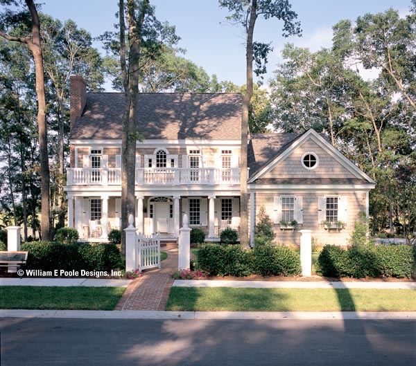 Colonial southern house plan 86136 for Historic southern home plans