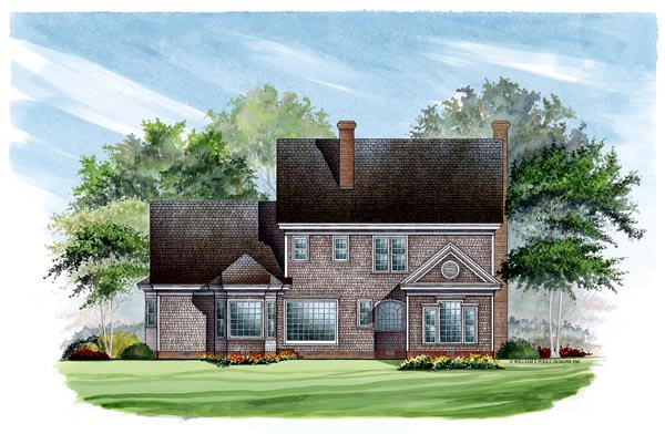Colonial Southern House Plan 86136 Rear Elevation