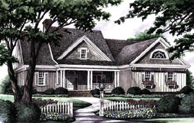 Plan Number 86140 - 2151 Square Feet