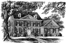 Colonial Southern House Plan 86149 Elevation