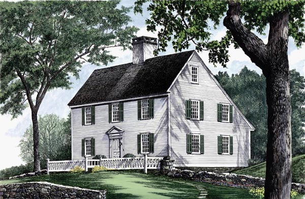 Colonial Southern House Plan 86155 Elevation