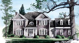 Traditional House Plan 86159 Elevation