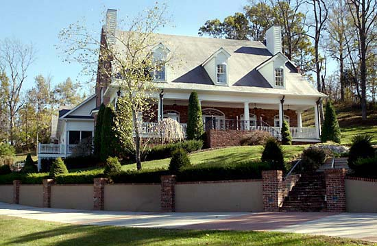 Colonial, Plantation, Southern House Plan 86174 with 4 Beds, 5 Baths, 2 Car Garage Picture 1
