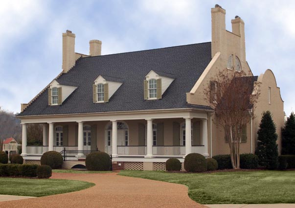 Colonial, Plantation, Southern House Plan 86174 with 4 Beds, 5 Baths, 2 Car Garage Picture 6