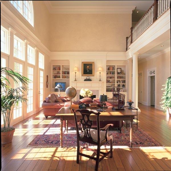 Colonial Plantation Southern House Plan 86175