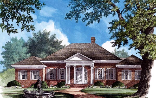 Southern House Plan 86177 Elevation