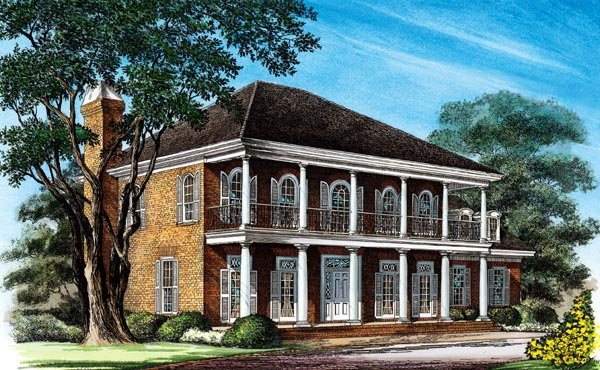 Southern Colonial House Joy Studio Design Gallery Best