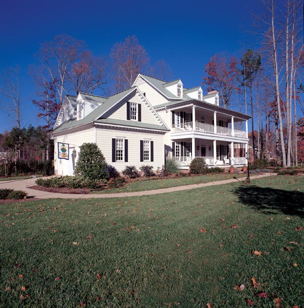 Colonial, Southern House Plan 86182 with 4 Beds, 4 Baths, 2 Car Garage Picture 3