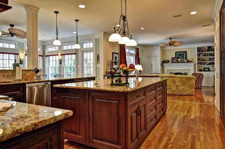 Colonial, Southern House Plan 86182 with 4 Beds, 4 Baths, 2 Car Garage Picture 9
