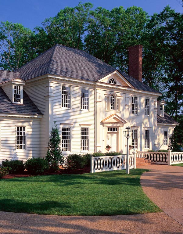 Colonial Plantation Southern House Plan 86186 Elevation