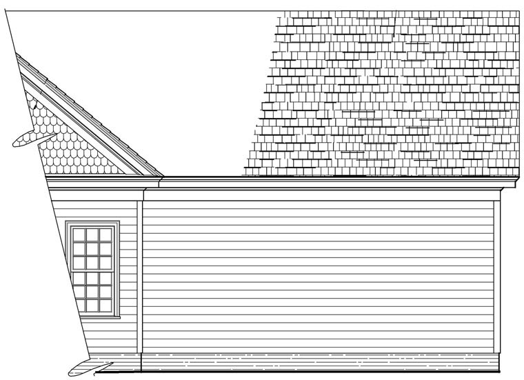Bungalow, Cottage House Plan 86198 with 2 Beds, 2 Baths, 2 Car Garage Picture 1