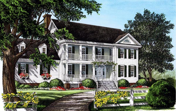 Traditional House Plan 86200 Elevation