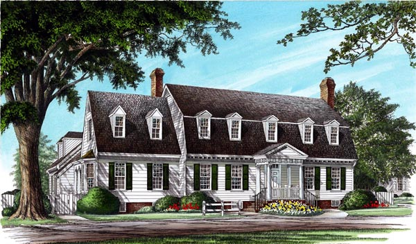 Traditional House Plan 86204 Elevation