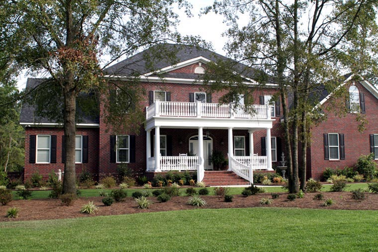 Colonial Plantation House Plan 86207