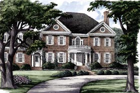 Southern Traditional House Plan 86211 Elevation