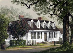 Colonial Traditional House Plan 86234 Elevation