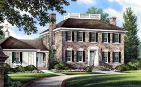 Traditional House Plan 86250 Elevation