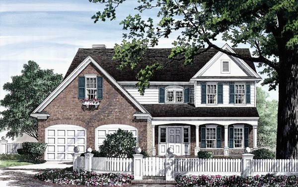 Country Traditional House Plan 86251 Elevation