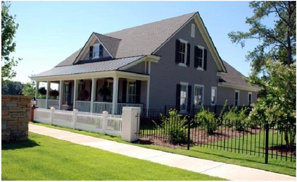 Cottage Country Farmhouse Traditional House Plan 86261