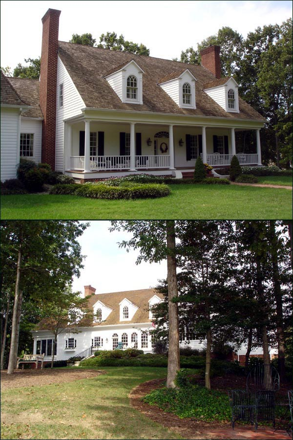 Cape cod colonial southern traditional house plan 86271 for Colonial cape cod house plans