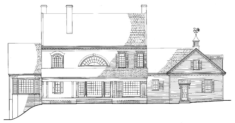 Colonial, Plantation, Southern House Plan 86287 with 5 Beds, 7 Baths, 3 Car Garage Picture 1