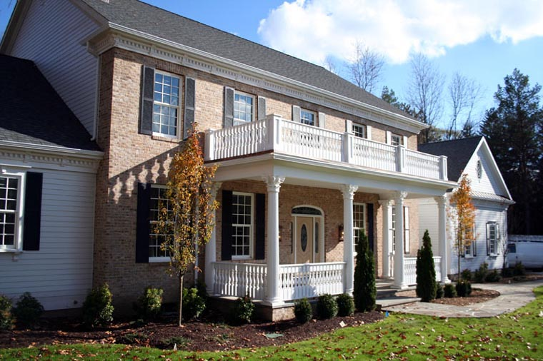 Colonial, Plantation, Southern House Plan 86287 with 5 Beds, 7 Baths, 3 Car Garage Picture 2