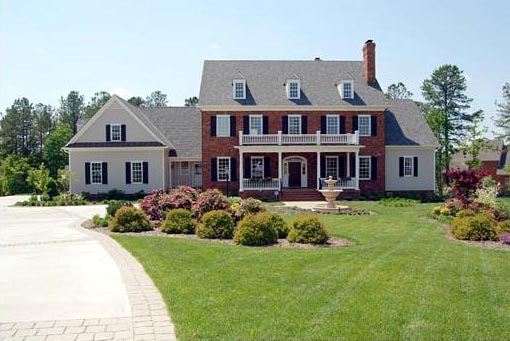 Colonial, Plantation, Southern House Plan 86287 with 5 Beds, 7 Baths, 3 Car Garage Picture 6