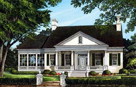 Traditional House Plan 86288 Elevation