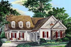Traditional House Plan 86300 Elevation