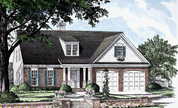 Cottage Traditional House Plan 86301 Elevation